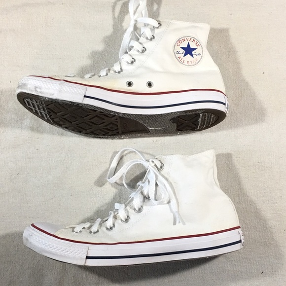 Converse Mens 9.5 Womens 11.5 Hi Top Chuck Taylor